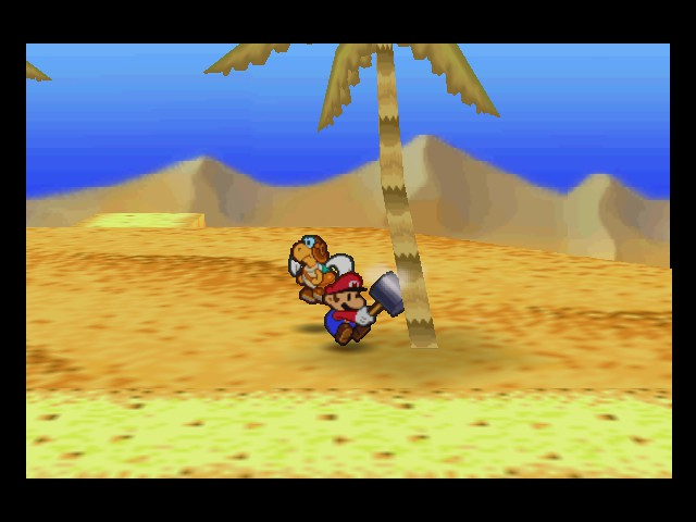 Paper Mario - Must....have....COCONUTS! - User Screenshot